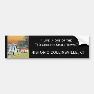 Collinsvilleのバンパーステッカー バンパーステッカー