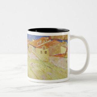 Collioureの景色 ツートーンマグカップ