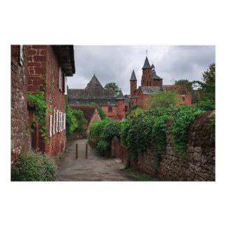 Collonges la弁柄、赤い村の写真のプリント フォトプリント
