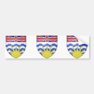 Colombie Britannique、カナダ バンパーステッカー