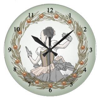 Colombine コロンビーヌ ラージ壁時計