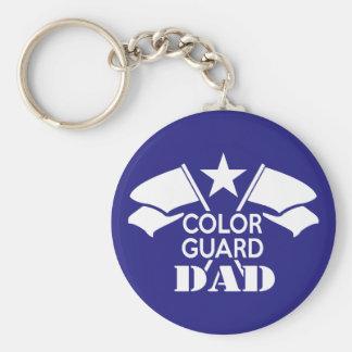 Color Guard Dad キーホルダー