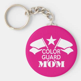 Color Guard Mom キーホルダー