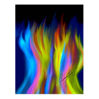 Color.jpgの炎 ポストカード