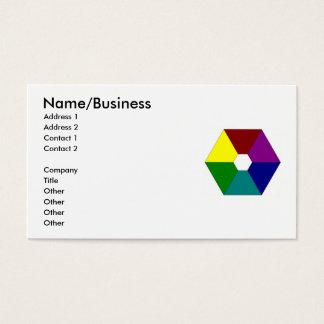 color_wheel、名前またはビジネスの住所1の住所… 名刺