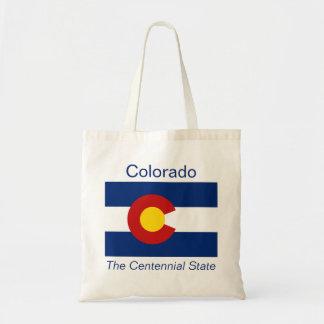Coloradanの旗のバッグ トートバッグ