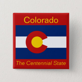 Coloradanの旗ボタン 缶バッジ