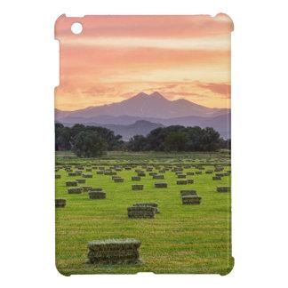 Colorado_Farmers_Burning_Sunset iPad Miniカバー