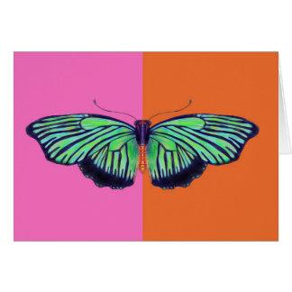 colorblockとのアールデコButterly カード
