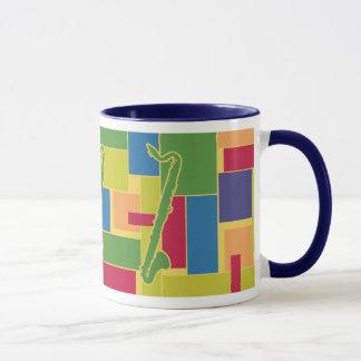 Colorblocksのマグ-バスクラリネット マグカップ