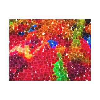 COLORBOXESの抽象的概念 キャンバスプリント