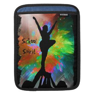 Colorburstのチアリーダー iPad 用スリーブ