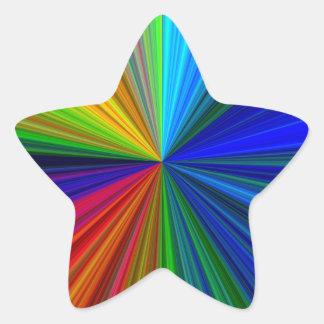 colorburst 星シール