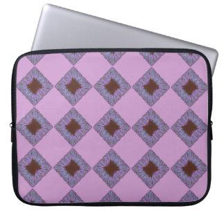 Colorfoilのピンクのバンダナ ラップトップスリーブ