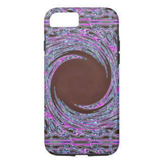 Colorfoilのピンクのバンダナ iPhone 7ケース
