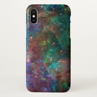 Colorful Abstract Deep Space Light iPhone X ケース