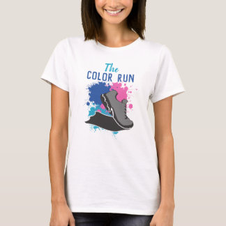 Colorful  Color Run Tシャツ