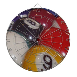 Colorful_Eight_Balls、_ ダーツボード