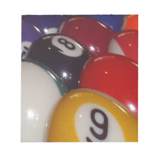 Colorful_Eight_Balls、_ ノートパッド