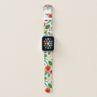 colorful floral apple watch apple watchバンド