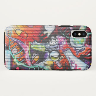 Colorful Medical Theme Graffiti iPhone X ケース