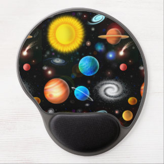 Colorful Universe Astronomy Space Gel Mousepad ジェルマウスパッド