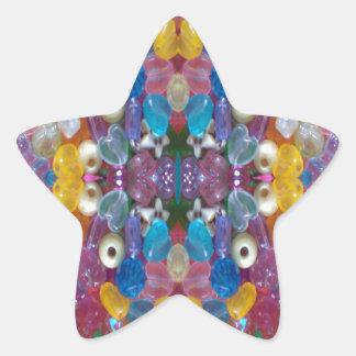 ColorfulBeadyConduct 星シール