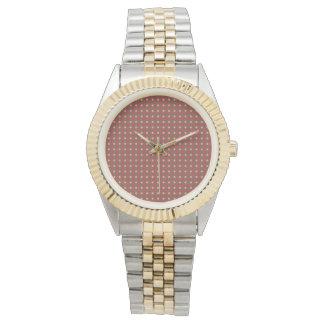 Colorfullのかわいいのかわいいツートーンブレスレット 腕時計
