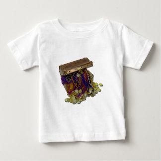 ColorfulPirateTreasureGoldCoins110511 ベビーTシャツ