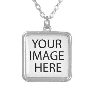 Colorguardのロゴ シルバープレートネックレス