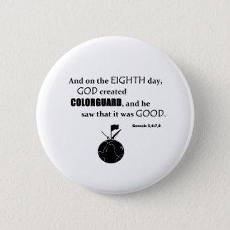 Colorguardの作成ボタン 5.7cm 丸型バッジ