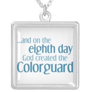 Colorguardの作成 シルバープレートネックレス