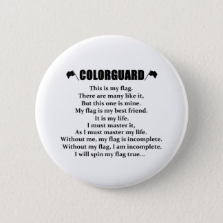 Colorguardの調子ボタン 5.7cm 丸型バッジ