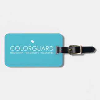 Colorguard: 友情のチームワークの記憶 ラゲッジタグ