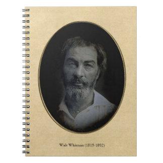 Colorizedウォルト・ホイットマンのポートレート ノートブック