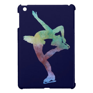 Colorwashedのフィギュアスケート選手 iPad Miniケース