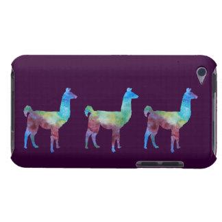 Colorwashedの3頭のラマ Case-Mate iPod Touch ケース