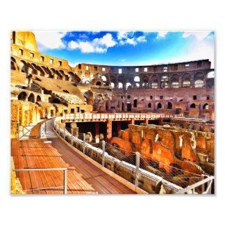 Colosseumの中 フォトプリント