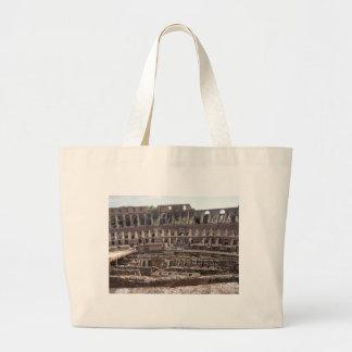 Colosseumの中 ラージトートバッグ