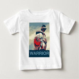 Colosseumの古代スパルタ式の戦士のローマの剣闘士 ベビーTシャツ