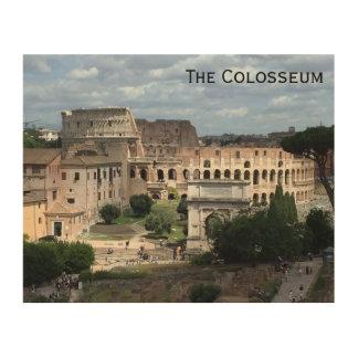Colosseumの壁の芸術 ウッドウォールアート