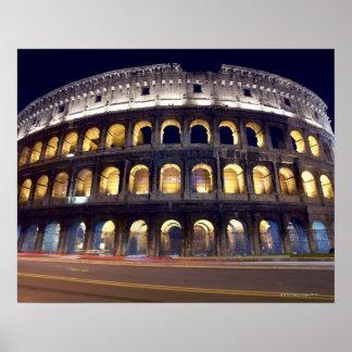 Colosseumの撃たれる夜 ポスター