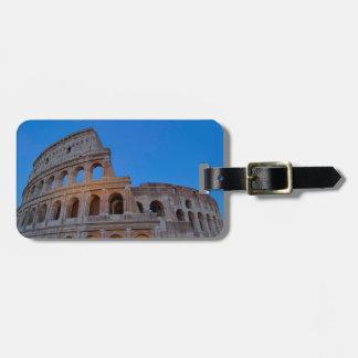 Colosseumの最初にFlavianの円形劇場 ラゲッジタグ