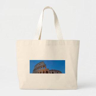 Colosseumの最初にFlavianの円形劇場 ラージトートバッグ
