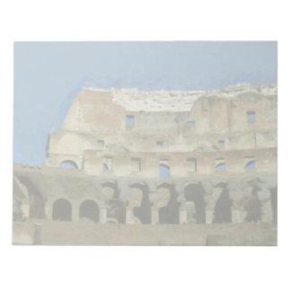 Colosseumの絵画、ローマ ノートパッド