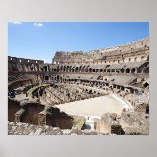 Colosseumはローマ、イタリアに置かれます。 その3 ポスター
