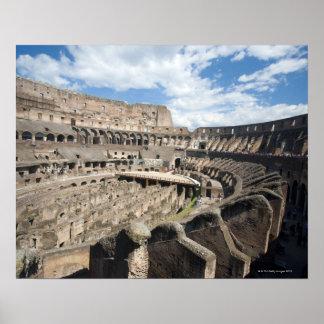 Colosseumはローマ、イタリアに置かれます。 その ポスター