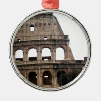 Colosseumイタリアンな旅行写真 メタルオーナメント