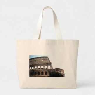 Colosseumイタリアンな旅行写真 ラージトートバッグ