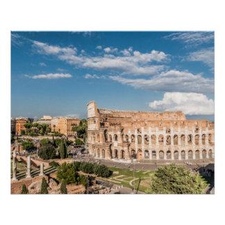 Colosseumローマの完全なポスター ポスター